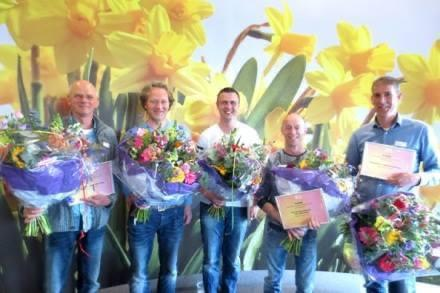 1ste prijs kwaliteitscompetitie Winterbol op Po